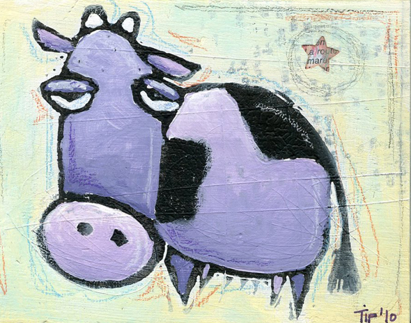 Purple Cow how do we stay purple? Business leadership Maurilio Amorim