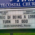 Bad, Really Bad Church Signs, Part II