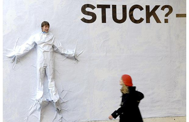 What to do when you get stuck creatively