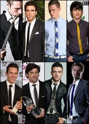 skinny tie hollywood