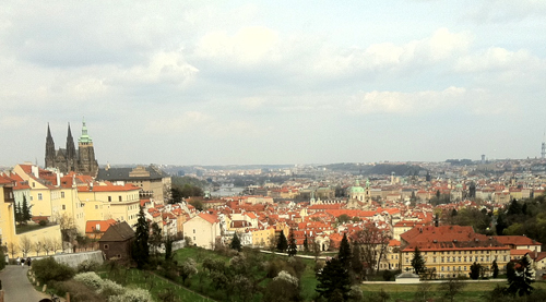 Prague Monastery View