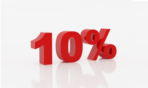 10% ten percent rule of life