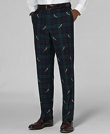 plaid, santa pants MULTI brooks brothers