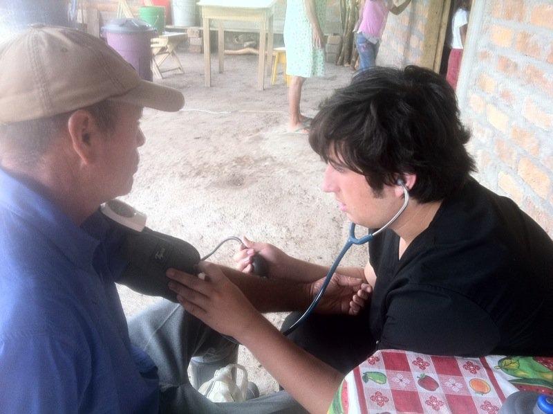 Marcus Honduras clinic
