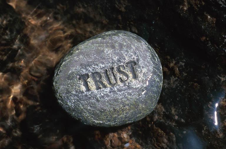 Trust safe person