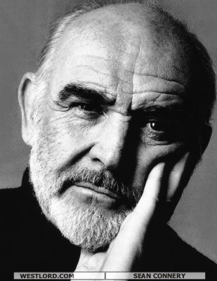 Shawn Connery beard