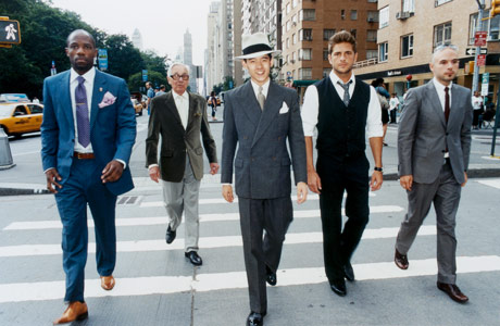 a man's guide for dressing well and looking good