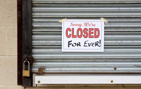Small Business ministry Failure