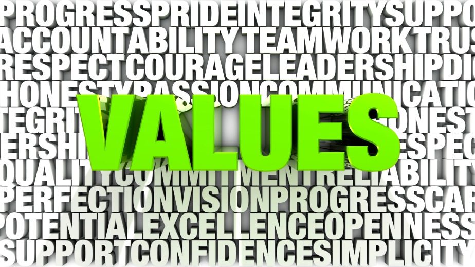 internal organizational values
