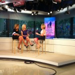 Dr. Meg Meeker with Kathy Lee Gifford and Hoda on the Today show set
