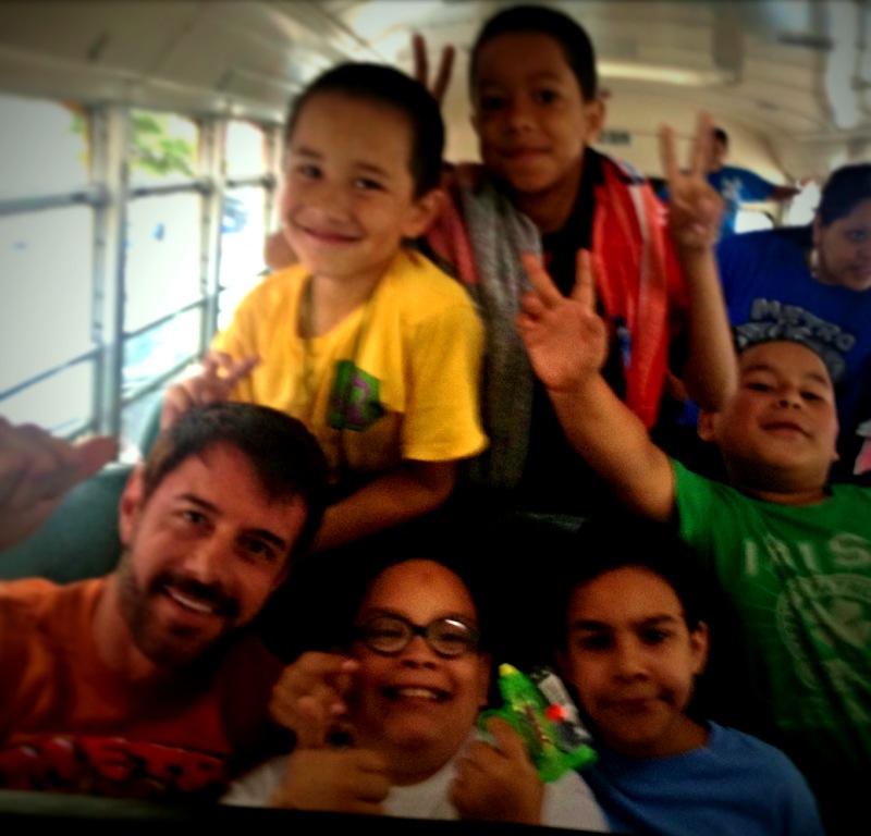 Metro Ministries bus ride