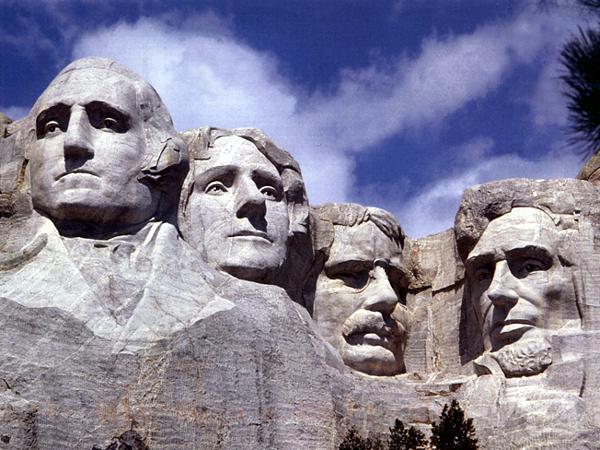 vision tenacity, Mount Rushmore