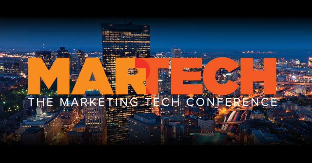 martech conference, marketing and technology, Boston,